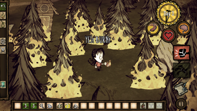 Screenshot from Don't Starve: Pocket Edition