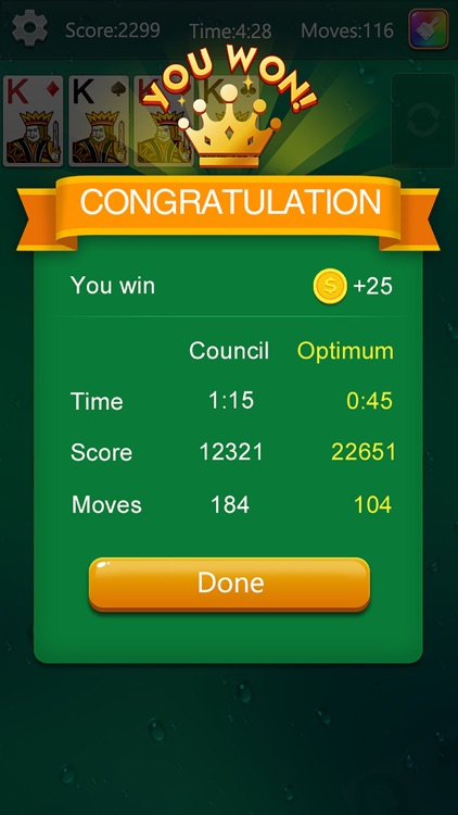 Solitaire Fun Card Game screenshot-4