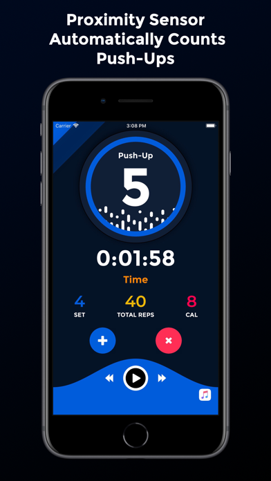 iPush-Up Pro: Pushup Counter Screenshot 1