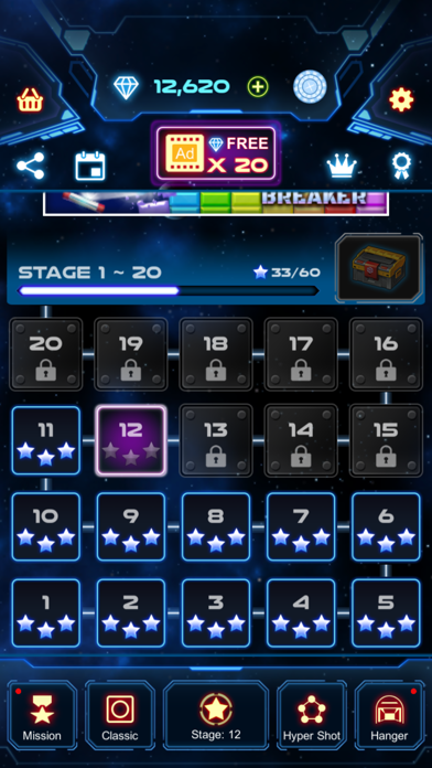 Bricks Breaker Galaxy Shooter screenshot 7