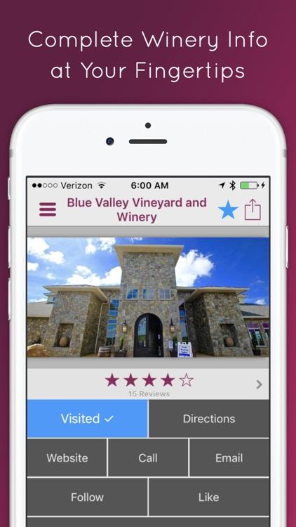 VinoWine - Winery Finder screenshot-3