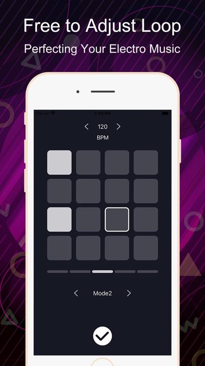Electro Drum Pad-Beat Maker screenshot-3