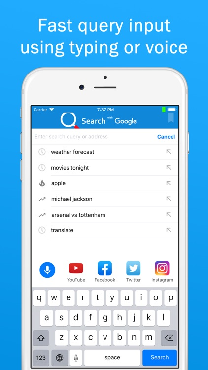 Smart Search & Web Browser