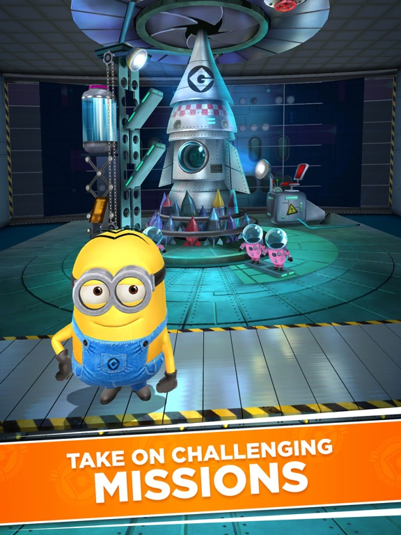 Minion Rush-ipad-3