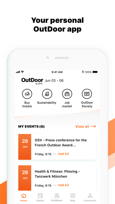 Screenshot #3 pour OutDoor by ISPO