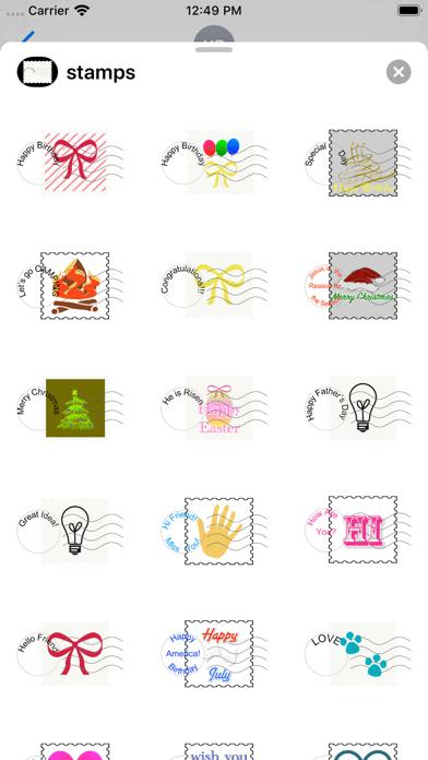 fun stamps screenshot 2