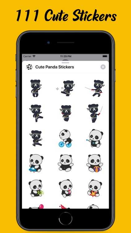 Panda Emojis and Stickers screenshot-3