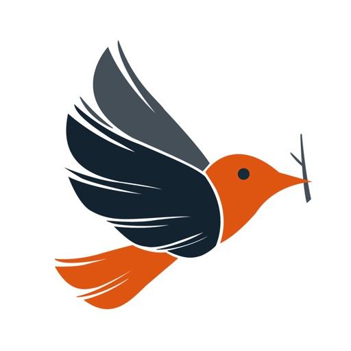 小鸟家装app icon图