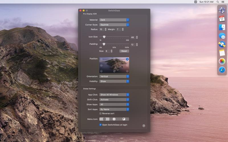 SwitchGlass скриншот программы 1