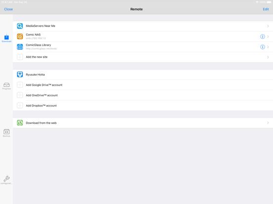 ComicGlass [ComicReader] screenshot