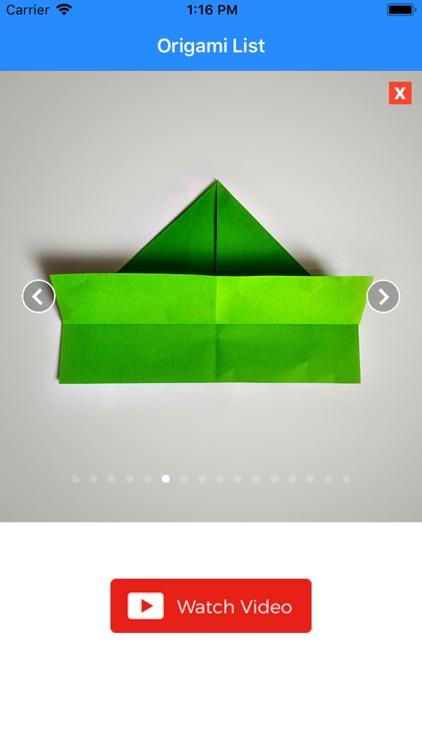 How to make an Origami screenshot-9