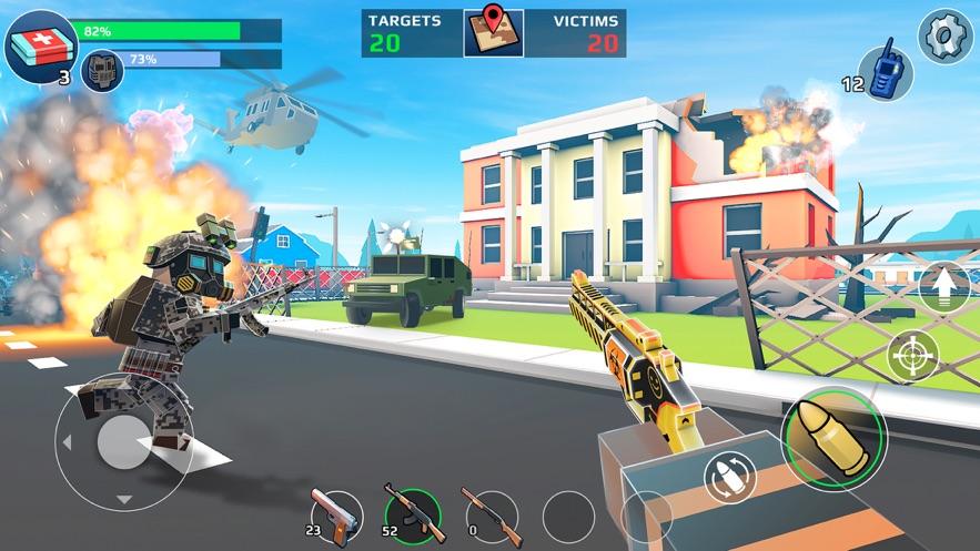 未知的像素枪战 App 截图