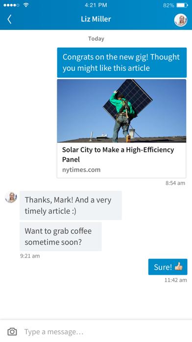 LinkedIn: Network & Job Search screenshot four