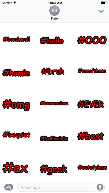 Hipster Hashtag