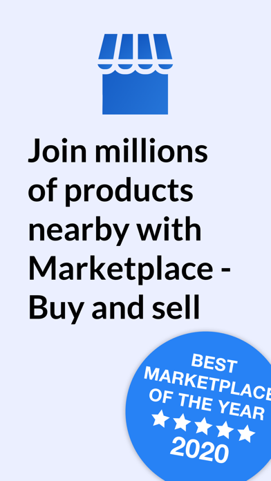 Marketplace - Buy and sell Screenshot