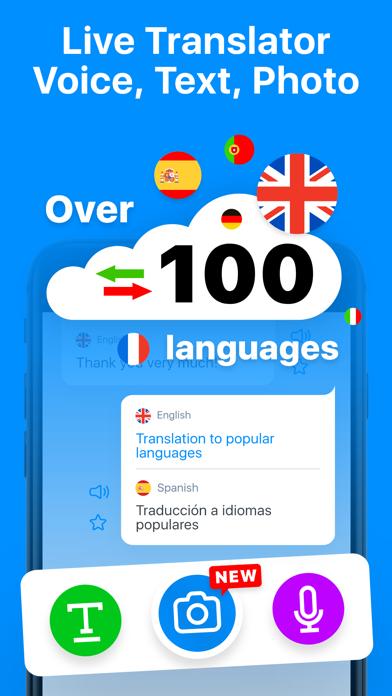 Voice Translator Speak-On Screenshot