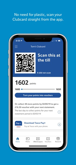 Tesco Clubcard on the App Store