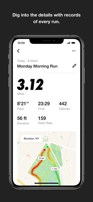 nike free running app