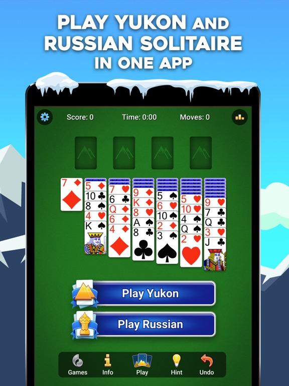 Yukon Russian – Solitaire Game screenshot 2