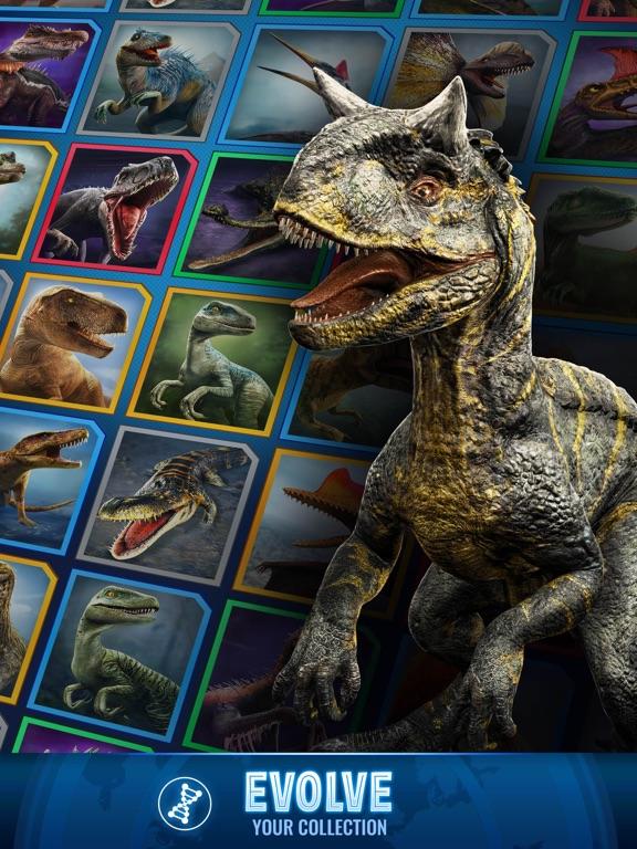 Jurassic World Alive-ipad-5