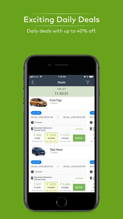 Zoomcar - Self Drive Cars screenshot-6