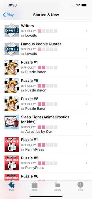 Acrostic Word Puzzles on the App Store