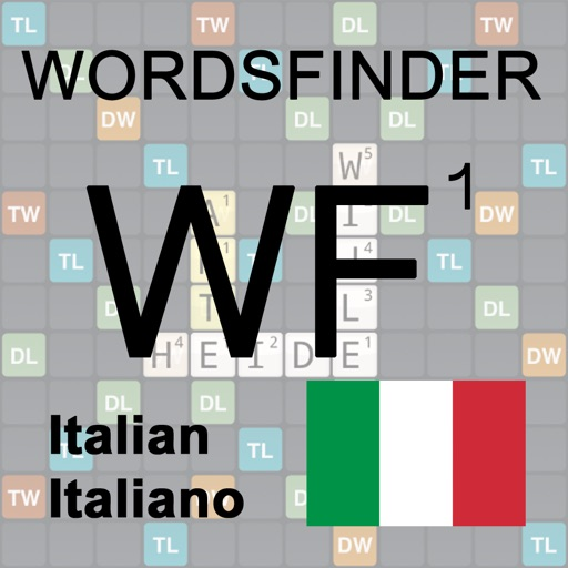 WordsFinder Wordfeud Italiano