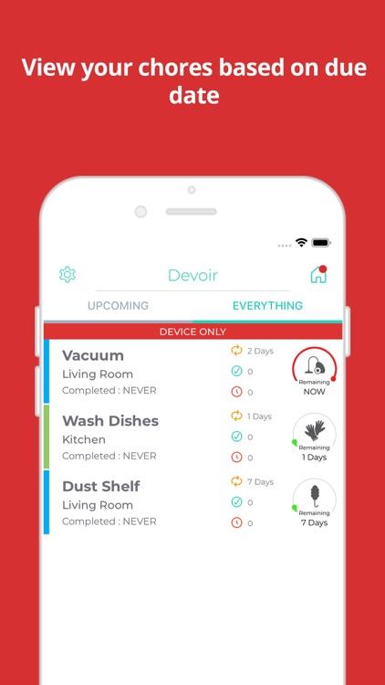 Devoir - Simple Chore Manager
