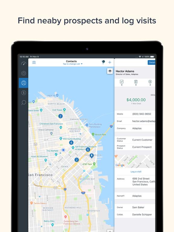 Base CRM and Sales Tracking screenshot