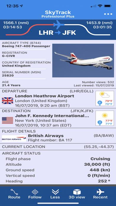 SkyTrack Flight tracker aware-0