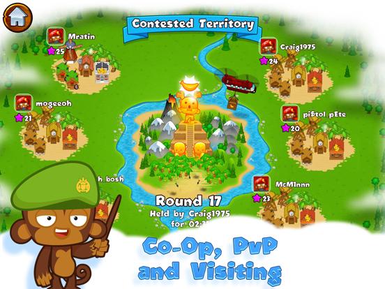 Bloons Monkey City iPad app afbeelding 4