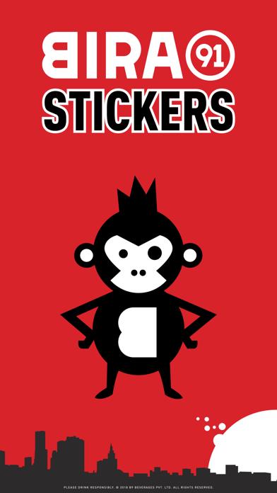 Bira91 Stickers screenshot 1