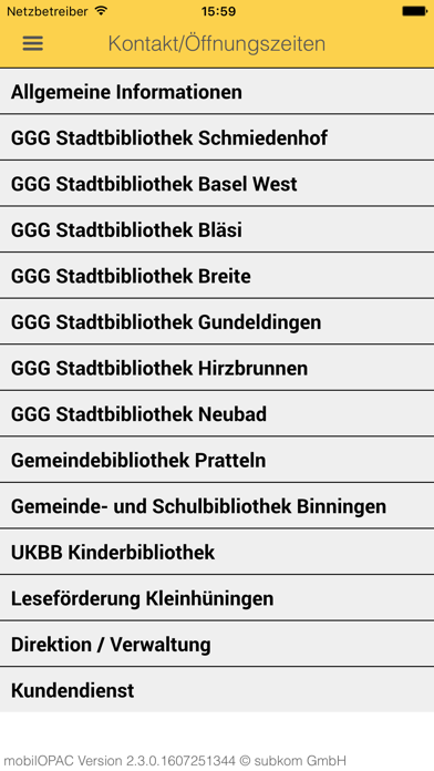 GGG Stadtbibliothek Baselのおすすめ画像5