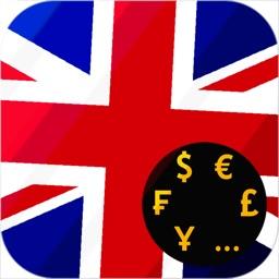 British Pound GBP converter