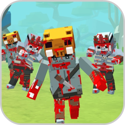 Against Blocky Zombie Hordes