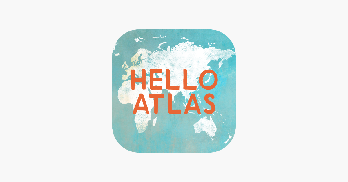 The Best Ipad Apps For Toddlers New Atlas >> The Hello Atlas On The App Store