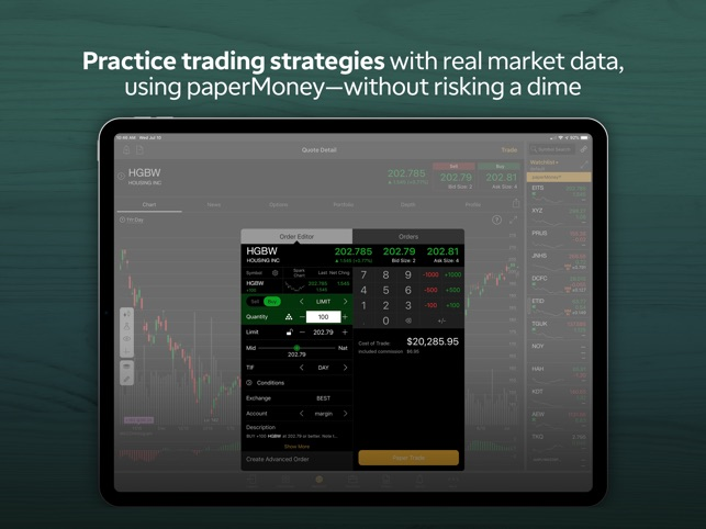 TD Ameritrade: Mobile Trader on the App Store