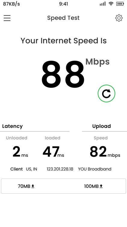 4G Internet Speed Meter screenshot-3