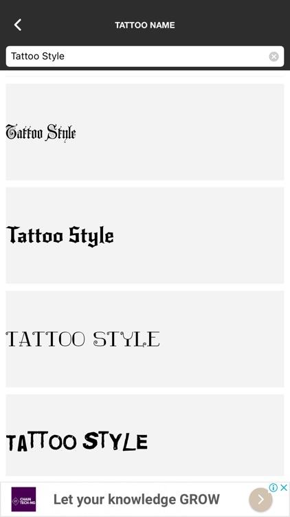 Tattoo gallery screenshot-4