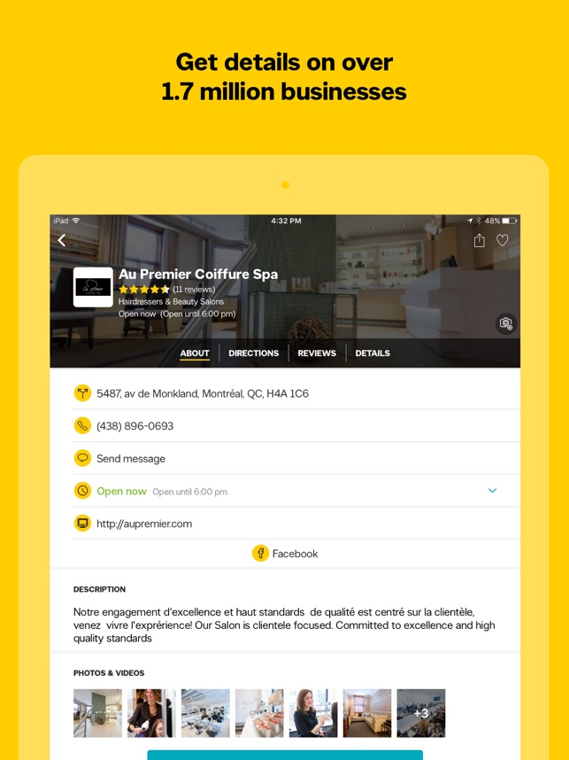Yellow Pages Canada on the App Store