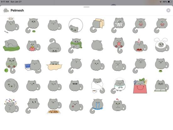 Cute Cat Emoji Funny Stickers screenshot 4