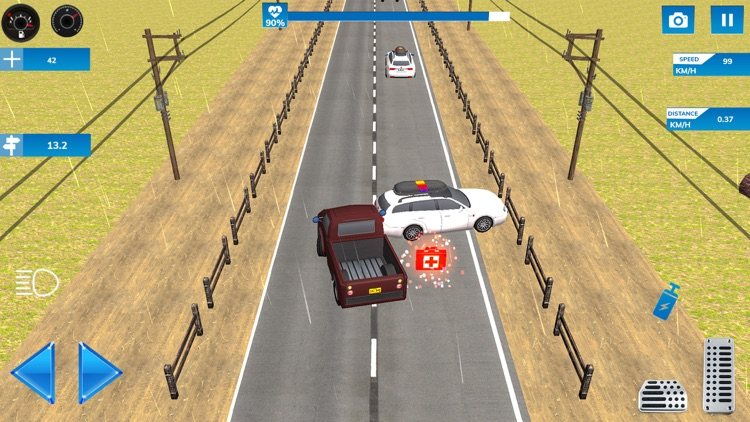 Highway Speed Car Racing screenshot-3