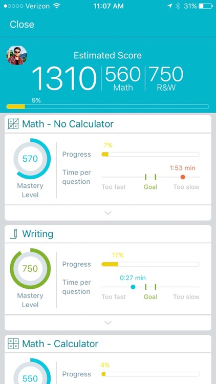 SAT Prep by Ready4 screenshot-3