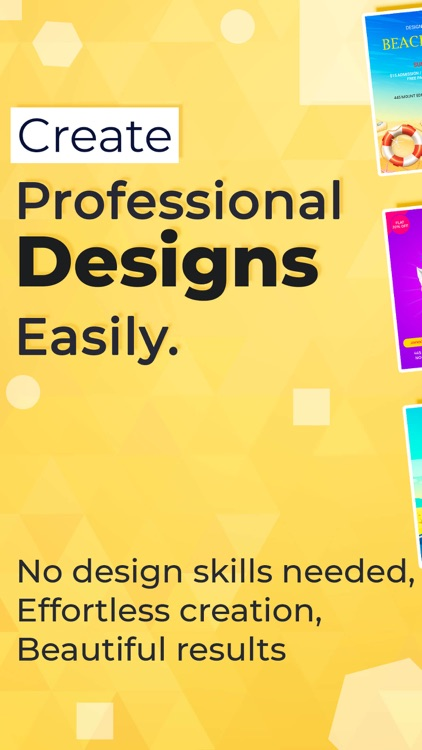 Flyer Maker - Graphic Designer screenshot-0