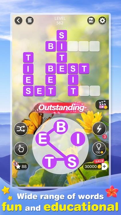 Word Calm -crossword puzzle screenshot-0