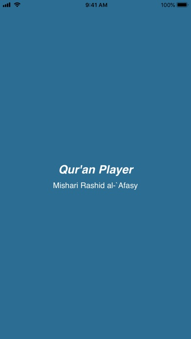 Screenshot for Quran Audio Player (Al Afasy) in United States App Store