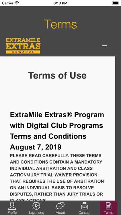 ExtraMile Extras screenshot-4
