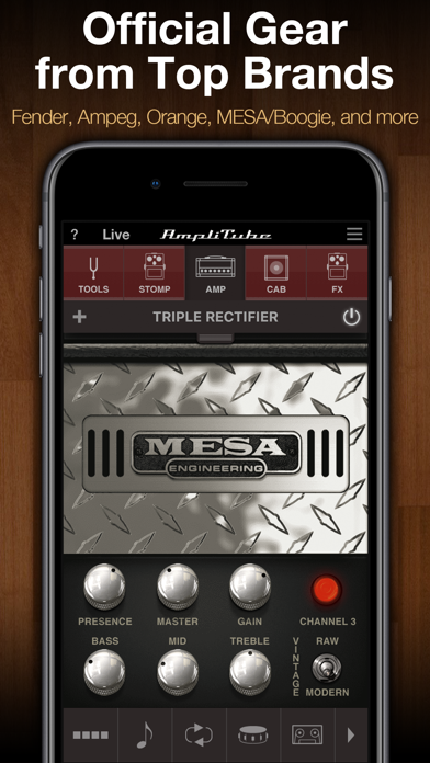 Screenshot for AmpliTube in Chile App Store