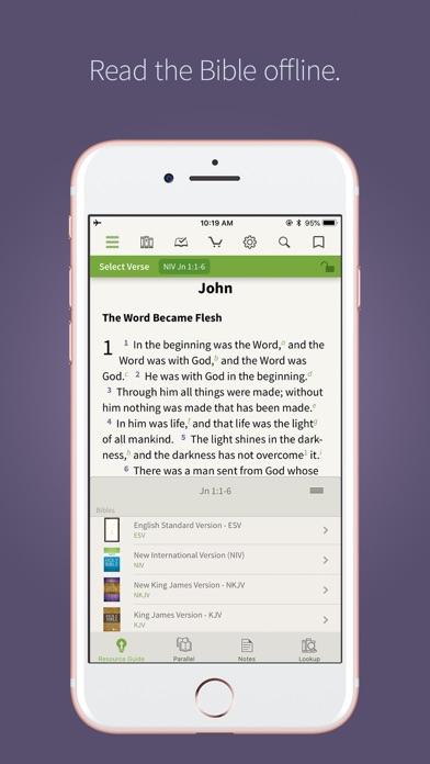NIV Bible App + screenshot one