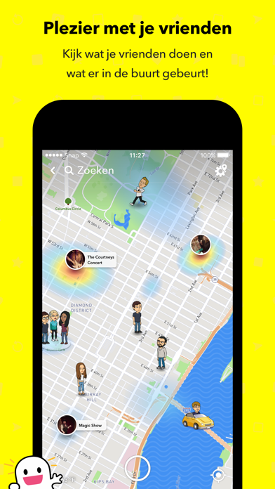 Screenshot for Snapchat in Netherlands App Store